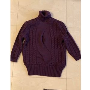 Sweater plum